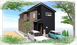 プレミアム西宮・名塩東山台  コンセプトハウス2区画建築中    2区画建築条件無し売土地の外観