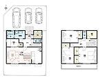間取りプラン例(建物価格1880万円、建物面積109.29m2)