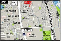 ヴェルテューサ川西能勢口2   (全3区画) 土地33坪~:案内図