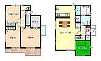選SANシリーズ標準べる5つのコンセプト住宅は建物28~29.5坪で自社設計にて一緒に造る新居。気密性、遮音性、遮断性に優れる木造ツーバイフォー工法で耐震性もあります(現地モデルハウス間取)