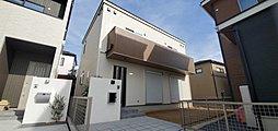 G棟外観完成予想パース 二階建てプラン
