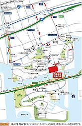 芦屋高浜 松韻の街(建築条件付宅地分譲):案内図