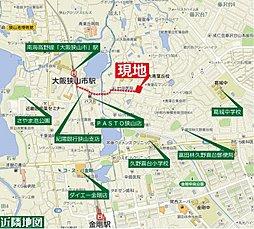 セルファ青葉丘ヒルサイドガーデン【全12区画】:交通図