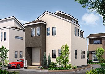 【イメージパース】限定1邸販売開始!23帖のLDK。豊富な収納スペース。コンセプト住宅「インフィニティ・スペース」が新しく登場します。
