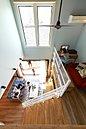 リビングには開放的な吹き抜けを取り、 家族との空間により広がりを。※参考プラン