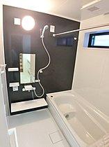 【浴室】 ゆったり足が伸ばせる1.0坪のユニットバス!