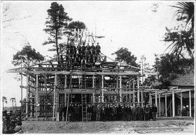 創業時から蓮田・白岡・大宮周辺を中心に神社や仏閣を建築。