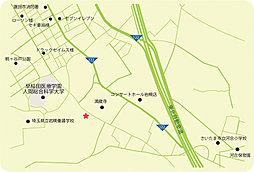 【松永住宅の分譲】mindstage蓮田II 土地分譲 残り4区画:案内図