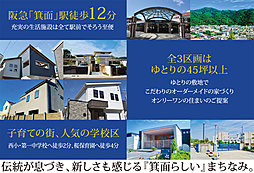 【箕面駅徒歩12分】 スピガタウン箕面・新稲4