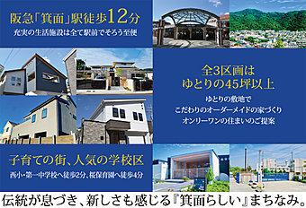 ■始発駅「箕面」駅までは徒歩12分(約950m)■「箕面」駅から「梅田」駅まで26分