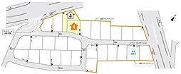 【トヨタウッドユーホーム】大原間小北 モデル棟家お譲りします:交通図