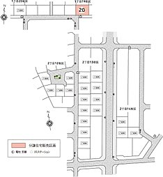 美里町駅東/トヨタウッドユーホーム株式会社:案内図