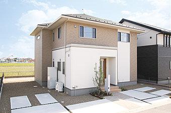 2×4フリー設計「住遊世代」モデルハウスです。(NO.10)