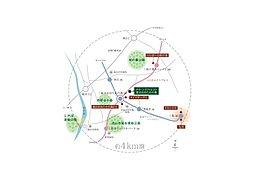 広域概念図