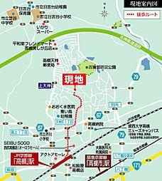 【セキスイハイム】スマートハイムタウン高槻奥天神町:案内図