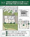 【No.8】価格: 2750万円 間取り: 4LDK 土地面積: 259.6m2 建物面積: 113.03m2