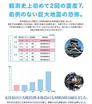 観測史上初2回の震度7、前例のなかった熊本地震にも耐えた家