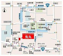 パナホーム・コート鬼丸:案内図