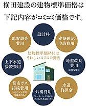 横田の建物価格はコミコミ価格