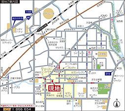 栄町1丁目 -全13区画- (総持寺駅徒歩15分):交通図