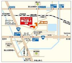 パナホーム・コート神辺道上 第III期分譲地:案内図