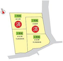 サニーガーデン寿山2期:案内図