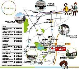 ガーデンシティ黒崎南:案内図