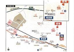 ウインズコート高田の杜:交通図