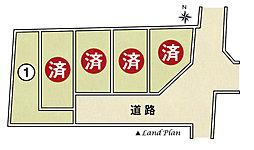 根木建設工業の家 【大宅辻脇町】 全5区画の外観