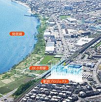 都心に近い湖畔の暮らしが実現。「京都」駅まで最短24分。