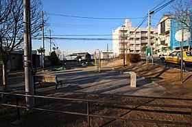栗田谷第二公園 まで240m 近隣には公園が多数点在する。