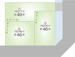 パルタウン姫路市広畑区蒲田2丁目 全3区画