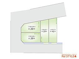 パルタウン姫路市飾磨区高町2丁目 全4区画の外観