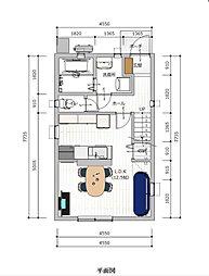 セットプラン 1階 平面図