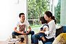 ●ゆったり休日 リビングは家族のコミュニケーションの場。お子様との会話を愉しんだり、読書をしたり♪家族の笑顔が溢れる住まい設計です。※写真はイメージです,3LDK,面積104.74m2(31.68坪),価格2,980万円,東武野田線「逆井」駅 徒歩8分,東武野田線「増尾」駅 徒歩12分,千葉県柏市逆井2-23-6