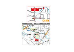 プラスコート庄2丁目 2号地:案内図