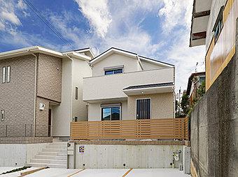 参考プラン(外観)陽光あふれる閑静な住宅地は新生活にぴったりです