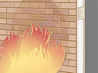 外壁には、火に強い不燃材料に認定された外壁材を標準仕様として採用。万一、隣家で火災が発生した際、もらい火等の影響を受けにくく、ご家族と住まいをしっかりと守ります。