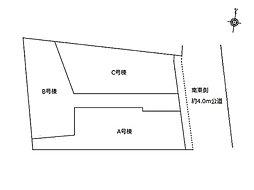 建物込4,380万円~ 菊名 ゆとりの新築2階建て全3棟
