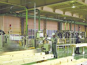 自社工場の作業風景