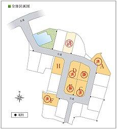 JA宅地分譲(東浦取手):案内図
