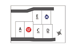 【近江八幡市西本郷町】relaciones西本郷2期※建築条件付※の外観