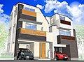 【信濃町】駅徒歩5分 緑に囲まれた住宅街にデザイナーズ住宅が全2邸誕生です