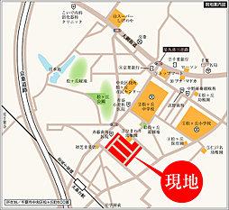 【Century Hills~蘇我の杜~】(駅徒歩3分)セコムホームセキュリティ標準装備の全67区画:案内図