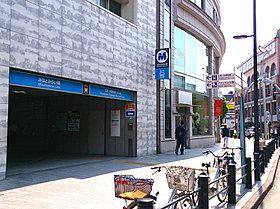 徒歩2分の「元町・中華街」駅。実質東横線の始発駅でもあります