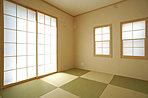 フチなし畳のモダンな和室