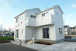 開発分譲地に建つ全5棟の制震装置設置住宅