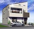 【南6m公道に面したデザイナーズ住宅】18帖のLDK 日当たり良好物件です