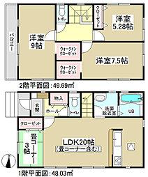 【アイデムホーム】 春日井市高蔵寺町3期 全2棟 <新築分譲住...