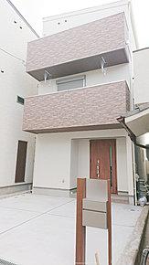 建物外観施工例 敷地面積78.15m2 延床面積107.73m2